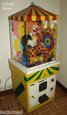 jeux et art forain - le clown charlie - automate de foire parlant