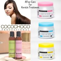 COCOCHOCO SULPHATE FREE SHAMPOO & CONDITIONER & HAIR MASK AFTERCARE KERATIN