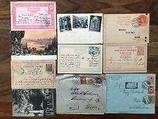 10 X TURKEY OLD POSTCARD COVER COLLECTION LOT CONSTANTINOPLE !!