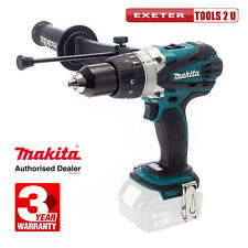 Makita DHP458Z 18V LXT 2 Speed Combi Drill Body Only ex BHP458Z