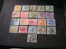*BELGIAN CONGO, SCOTT # 88-95(8)+97-100(4)+103-105(3)+107+109-113(5) 1923-2 USED