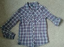 BENCH CHECKED SHIRT SIZE XS