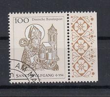 Briefmarken BRD 1994 Hl. Wolfgang Mi.Nr.1762 Rand