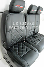 MERCEDES SPRINTER/VW CRAFTER VAN SEAT COVERS BENTLEY VARIED COLOURS X150BK-GY-SL