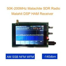 "50K~200MHz Malachite DSP SDR Radio Malahit HAM AM FM SSB HAM Receiver 3.5"" LCD"