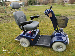 Elektromobil, Seniorenmobil, gebraucht, Shoprider, Farbe blau
