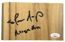 Shawn Kemp Autografiado Firmado Inscrita Tablon Seattle Supersonics JSA COA
