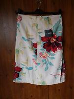 M/&S Asymmetric Floral Maxi Skirt 8//10//18  RRP £29.50