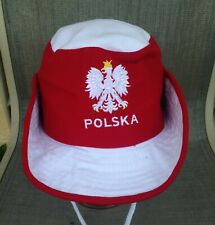 Polska  Polish Embroidered Eagle Boonie Safari Hat One Size