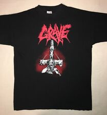 GRAVE 1995 European Tour Rare Vintage T-Shirt XL