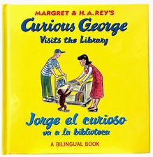 Jorge el curioso va a la biblioteca/Curious George Visits the Library edition)