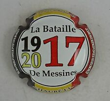 capsule champagne générique personnalisé belge de messines 1917 2017 CHAURE JL