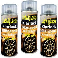 KLARLACK 3 Spraydosen  Lackspray Autolack Ludwiglacke Lack glänzend &Versand