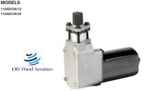 NEW THOMAS 115ADC56/24 Piston Compressor 24VDC Air Horn Air ride Seats brakes!!