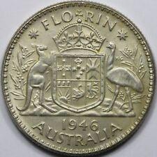 Australia George VI 1946 Florin, Uncirculated