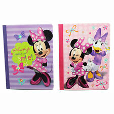 6x Disney Minnie Mouse School Composition Wide Ruled Books Homework Notebook New