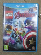 Lego Marvel Avengers Nintendo Wii U UK PAL **FREE UK POSTAGE**