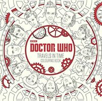 Doctor Who: Travels in Time Colouring Book by BBC Book The Fast Free Shipping