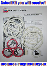 1979 Brunswick/Briarwood Aspen Pinball Machine Rubber Ring Kit