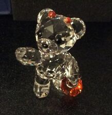 Limited Edition Swarovski Kris Bear Halloween 096026 Mint Condition Boxed