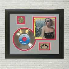 Blondie Rapture Framed Picture Sleeve Gold 45 Record Display