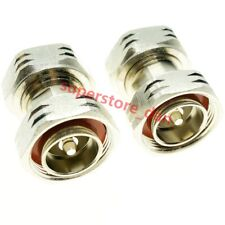 7/16 DIN male to 7/16 DIN male L29 plug in series RF adapter connector M/M