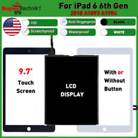 LCD Display Touch Screen for iPad 6th Gen 2018 A1893 A1954 Digitizer Replacement