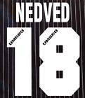 Lazio Nedved Nameset Shirt Soccer Number Letter Heat Football A 96 Maglia Umbro