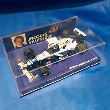 MINICHAMPS Jacques Villeneuve Vintage 1/43 Diecast WILLIAMS RENAULT FW18 1996