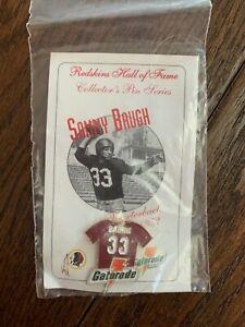 Washington Sammy Baugh Hat Pin Gatorade HOF Series Redskins Enamel Pin NEW