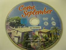 COME SEPTEMBER starring Gina Lollobrigida, Rock Hudson   {DVD}