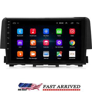"For Honda Civic 2016-2020 Android 9.1 Car Stereo Radio Player GPS 9"" Navigation"