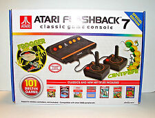 Atari Flashback 7 Classic Game Console 101 Built in Games  2 controllers