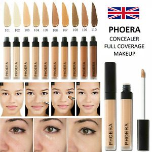 Phoera®  Concealer Foundation Full Coverage Conceal Matte Brighten Long Lasting