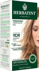 Herbatint Haircolor Gel Permanent Copperish Gold 9DR 4.5 fl oz FREE Shipping