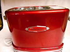 NICE Nostalgia Electrics RHDT-700 Retro Pop-Up Hot Dog Toaster-Red & White Color
