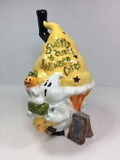 New! Blue Sky Clayworks Ghostly Bakes Halloween Cakes Heather Goldminc Tea Light