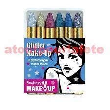 Boîte de 6 crayons maquillage,Kit,Déco,Carnaval,Accessoire,déguisement,Fête