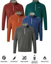 Craghoppers Corey V Mens Micro Fleece Half Zip Casual Jumper Warm New Selby