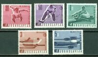 Yugoslavia 1966 ☀ International sports competitions ☀ Mint never hinged set