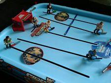 1991 Remco WWF Superstars Wrestling Shoot Out Hockey Game Hulk Hogan WWE TNA LJN