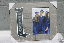 """SONOMA MOVIE MARQUEE ''The Graduate"""" 4'x 6  Photo Picture Table Frame Gray"""