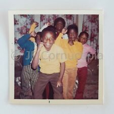 1970S PHOTO AFRICAN AMERICAN CHILDREN DO BLACK POWER RAISED FIST CIVIL RIGHTS
