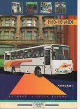 Autosan H10-10 Midi bus (made in Poland) _1998 Prospekt / Brochure