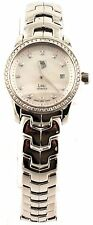 BLACK FRIDAY SALE TAG HEUER LADIES LINK WJF1319.BA0572 DIAMOND PEARL SWISS WATCH