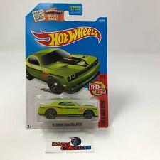 '15 Dodge Challenger SRT #109 * GREEN Kmart * 2016 Hot Wheels * ZC28
