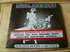 Sun Eats Hours vs Nicotine  Metal Addiction METALLICA ACDC KISS MOTLEY CRUE CULT