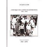 Jacques Giami - Chronique des années de déportation 1942-1944 - 2009 - Broché
