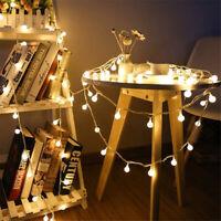 Ball String Light 10M 100LED Fairy Globe Lamp Party Decoration US/EU Plug