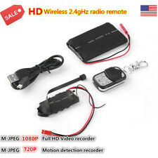 US 1080P HD DIY Remote Control Module SPY Hidden Camera Motion Video Mini DV DVR